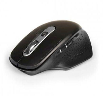 Port Designs Executive brezžična optična miška, Bluetooth, USB-A/C, polnilna