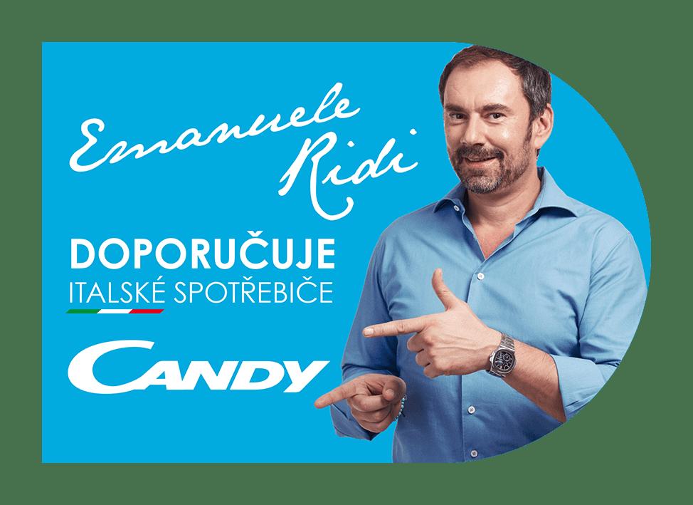 Candy lednice s mrazákem CMCL 5144XN