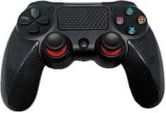 Ovladač pro PS4 s kabelem - Twin Vibration IV -Černá