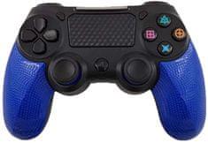 Bezdrátový ovladač pro PS4 - Twin Vibration IV -Modrá