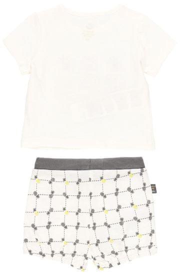 Boboli komplet chłopięcy - koszulka i szorty z bawełny organicznej 602042