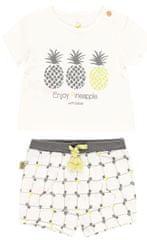 Boboli fantovski set majice in hlač iz organskega bombaža 602042, 92, bež