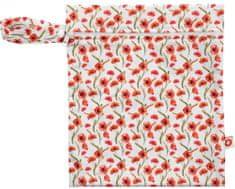 XKKO Nepremokavé vrecúško Veľkosť S - Red Poppies