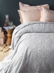 Issimo Narzuta na łóżko frotte ASGARD kolor szary 220x240 cm.