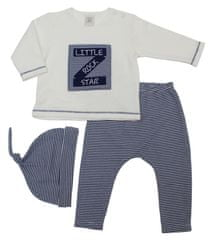 Just Too Cute Chlapecký set Little Rock Star 68 tmavě modrá