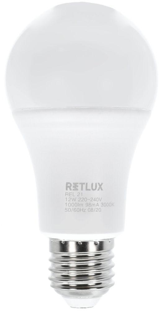 Retlux REL 21 LED A60 2x12W E27 WW