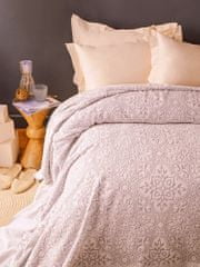 Issimo Narzuta na łóżko frotte ASGARD kolor miedziany 220x240 cm.