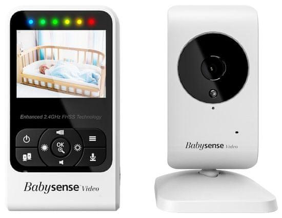 Babysense Video Baby Monitor V24R