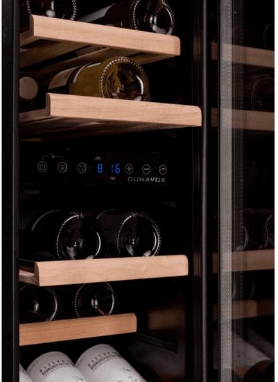 Dunavox DAUF-17.58DB podpultna vinska vitrina