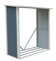 WA-A dreváreň 190 × 182 × 89 cm, sivá