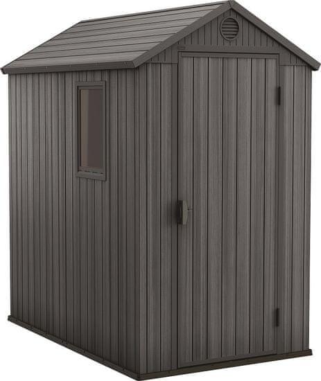 KETER DARWIN domek 205×126×185 cm, šedá