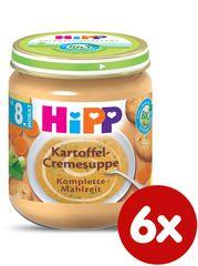 HiPP BIO Krémová polévka - bramborová se zeleninou 6x200g