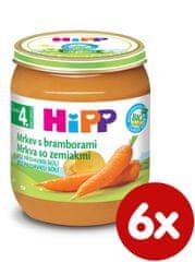 HiPP BIO Karotka so zemiakmi - 6 x 125g
