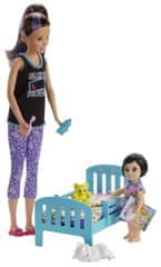 Mattel Barb igralni set s posteljico