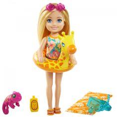 Mattel Barbie Chelsea z dodatki za na plažo