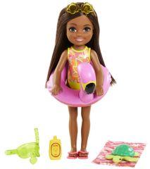 Mattel Barbie Chelsea s flamingom za na plažo