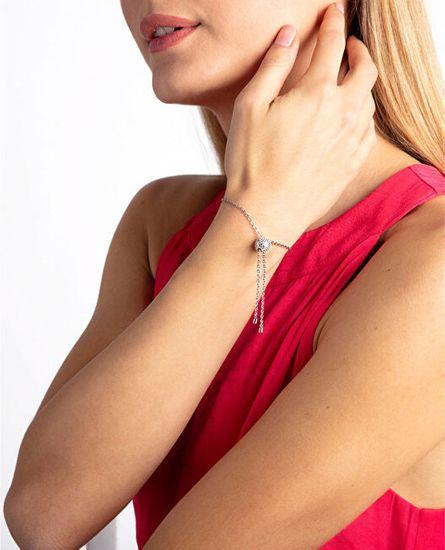 Calvin Klein Pozlačena zapestnicaSideKJ5QPB140100