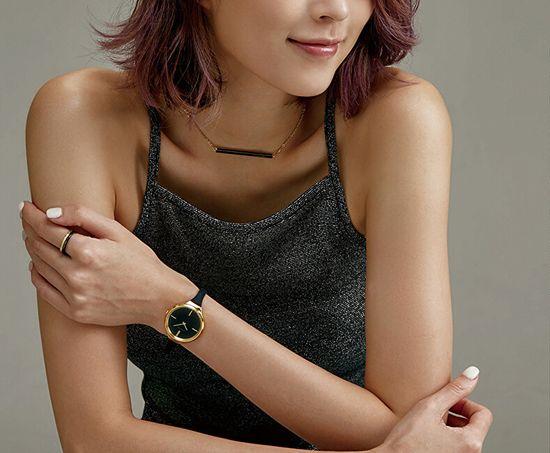Calvin Klein Luxus kétszínű gyűrű Gyönyörű KJ5VBR2001