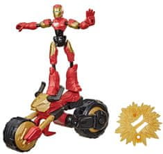 Avengers Bend and Flex Rider Iron Man figura
