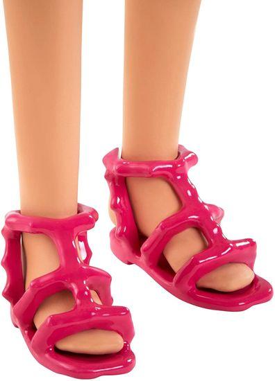 Mattel Barbie sestra s kupaćim kostimom i ružičastim koferom