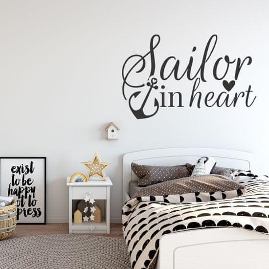 Megaprint stenska nalepka Sailor