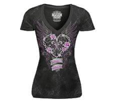 Lethal Threat dámské tričko Heart Breaker black vel. L