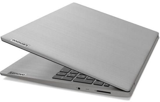 Lenovo IdeaPad 3 15IIL i3 / 8GB / 256GB SSD / 15,6 FHD IPS / W10H S prenosnik, siv (81-WE01-1)