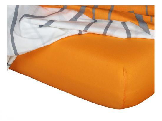 Dadka Jersey plachta pomaranč 120x200x18 cm
