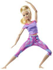 Mattel Barbie plavuša u pokretu