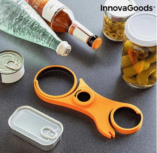 InnovaGoods multifunkcijski odpirač 5-v-1 - Odprta embalaža
