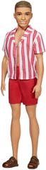 Mattel Barbie Ken 60. výročí - 1961 Ken v plážovém oblečení