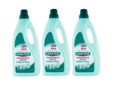 SANYTOL 3 x 1 l dezinfekčný univerzálny čistič na podlahy