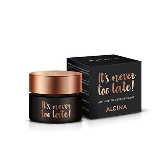 Alcina Denní pleťový krém It´s never too late! (Anti-Wrinkle Face Cream) 50 ml