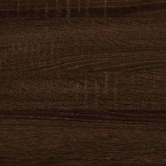 Meblocross Botník 7 Dekor lamina: dub sonoma tmavý