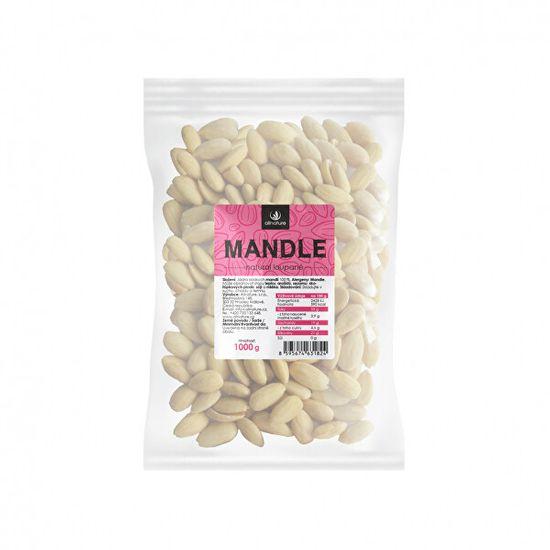 Allnature Mandle jádra loupané 1000 g