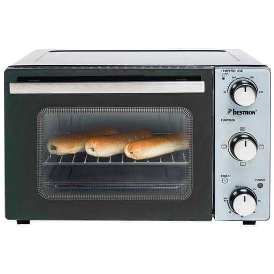 Bestron AOV20 mini pečica, 20 l, 1300 W