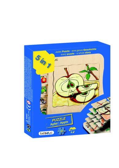 Beleduc Vývojové vrstvené puzzle JABLÍČKO