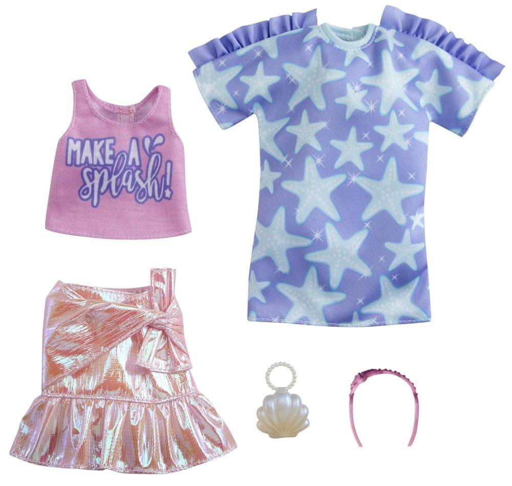 Mattel Barbie Oblečky 2 ks Make a splash