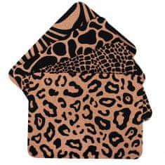 TORO Sada prestierania motív jungle, korok, 40x30x0,3 cm 4 ks