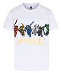 LEGO Wear chlapecké tričko Ninjago LW-12010203 104 bílá