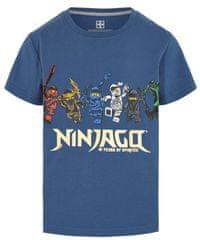 LEGO Wear chlapčenské tričko Ninjago LW-12010203 104 modrá