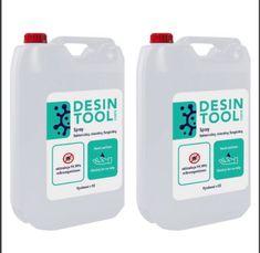 Desintool Tekutá dezinfekcia na ruky 2x 5 litrov