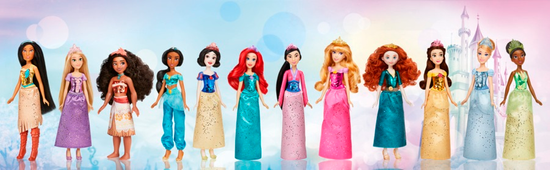 Disney błyszcząca lalka Śnieżka