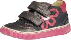 Szamos lány bőr sportcipő 1586-40063, 25, sötétkék