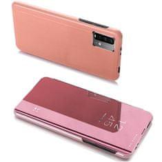 MG Clear View knjižni ovitek za Xiaomi Poco M3 / Redmi 9T, roza