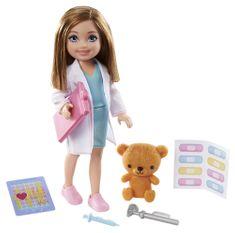 Mattel Barbie Chelsea v povolání - Doktorka