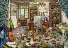 Ravensburger puzzle 167821 Exit Puzzle: Artystyczne studio 759, elementów