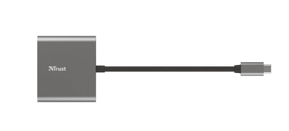 Trust Dalyx 3-in-1 Multiport USB-C adaptér