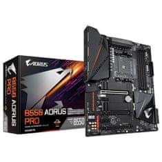 Gigabyte B550 Aorus Pro osnovna plošča, AM4, DDR4, USB-C, ATX