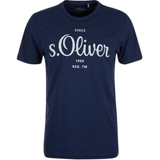 s.Oliver Pánské triko Regular Fit 130.11.899.12.130.2057432.5693